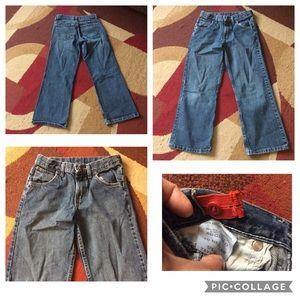 Boy's wrangler jeans size 10 reg